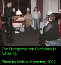 Iron Chef party