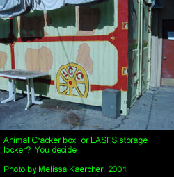 LASFS Clubhouse: The Storage Locker