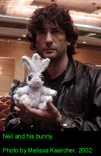 Neil and his bunny