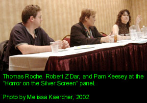 Thomas Roche, Robert Z'Dar, and Pam Keesey